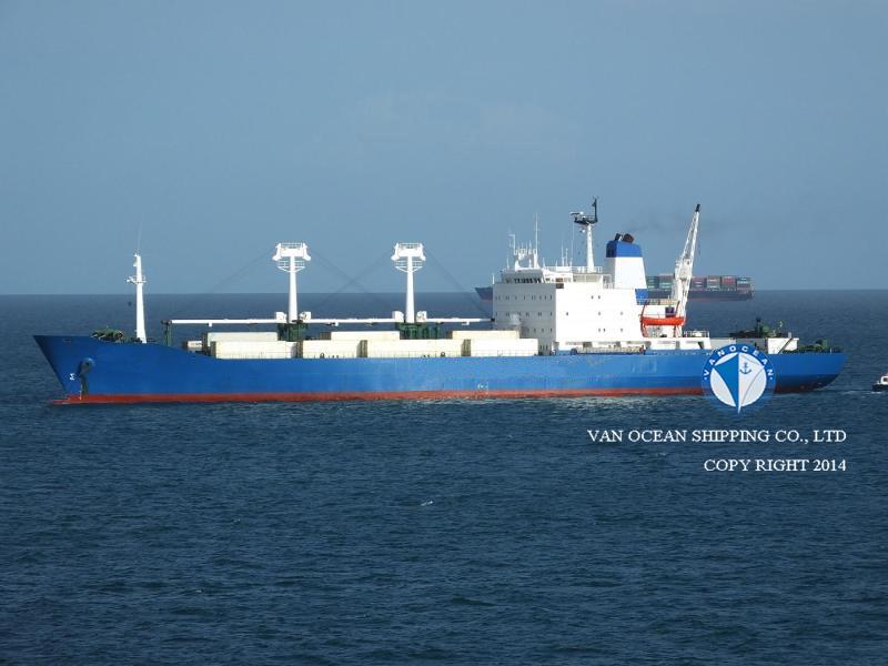 船型 冷藏运输船 是否为深冷船 否 船旗 圣文森特和格林纳丁斯 注册